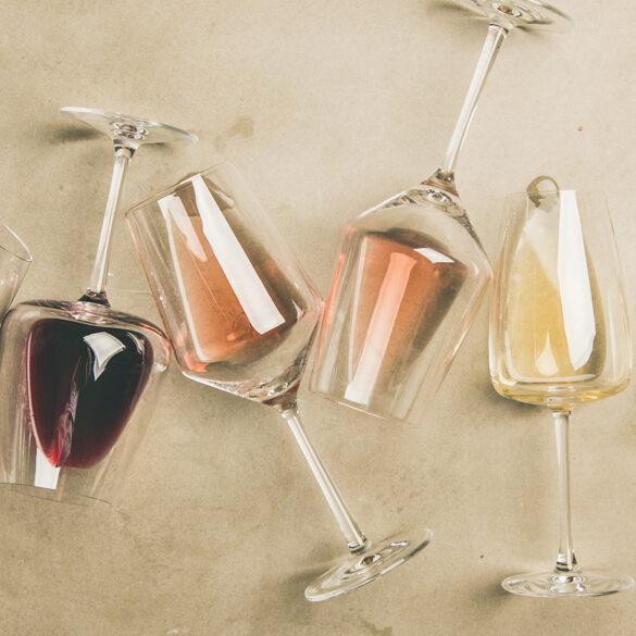 FINESSE, Wein, Gourmet, Gläser, Rotwein, Weißwein, Rosewein, Weine des Monats