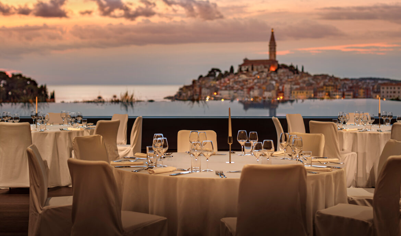 FINESSE, Travel, Magazin, Rovinj, Kroatien, Grand Park Hotel Rovinj, Ausblick, Restaurant
