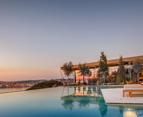 FINESSE, Travel, Magazin, Rovinj, Kroatien, Grand Park Hotel Rovinj, Ausblick, Liege, Pool, Insel