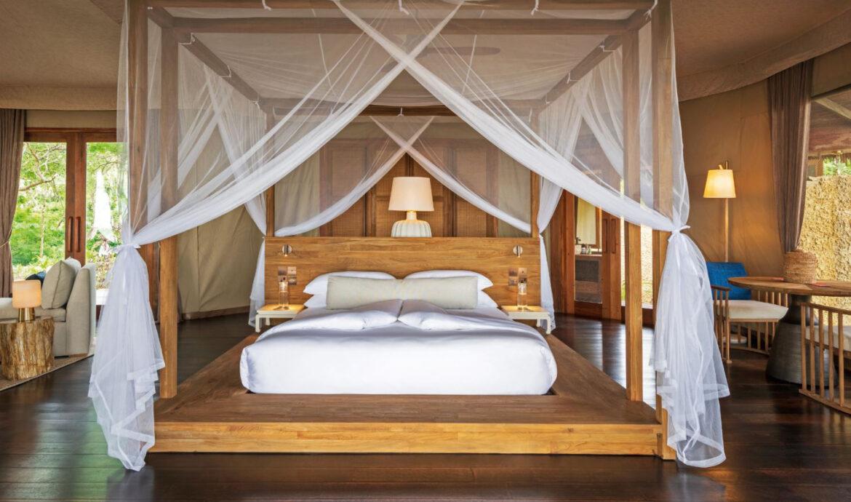FINESSE, Travel, Magazin, Reisen, Wa Ale, Myanmar, Juwel, Resort, Hotel, Natur, Schlafzimmer, Bett