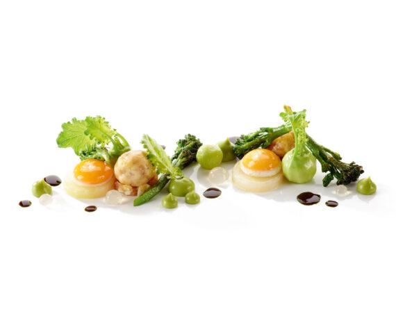 FINESSE, Food, Rezepte, Gourmet, Magazin, Wachtelei, Brokkoli, Kohlrabi