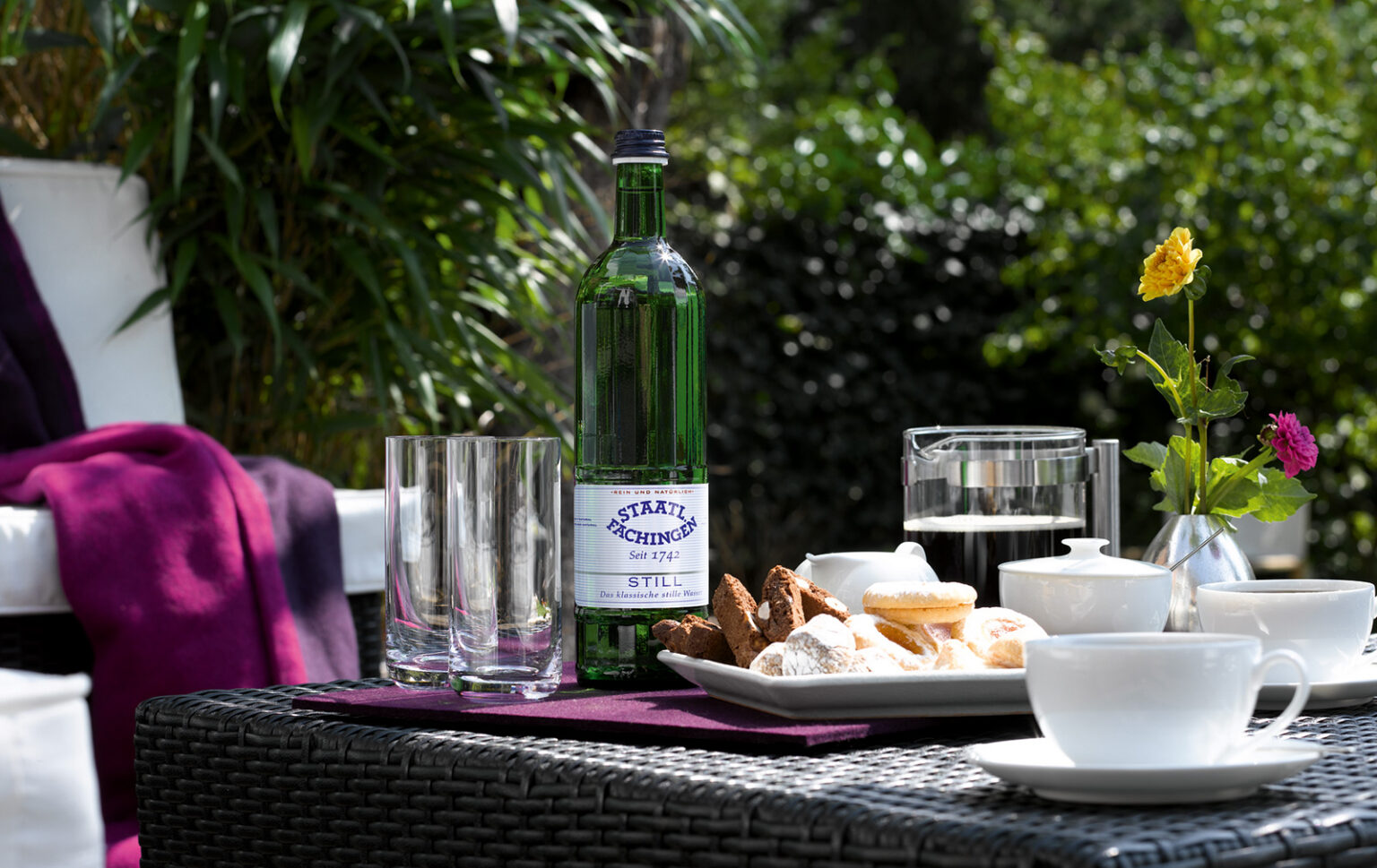 FINESSE, Food, Gourmet, Magazin, Mineralwasser, Staatl. Fachingen