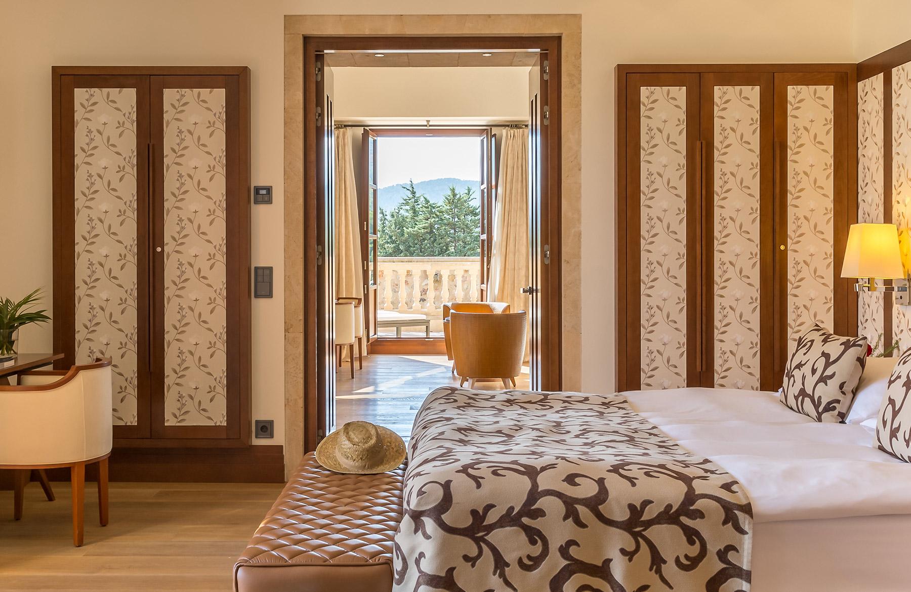 FINESSE, Magazin, Travel, Gourmet, Food, Mallorca, Hotel, Castell Son Claret, Luxusurlaub, Luxusrefugium, Doppelzimmer, Suite