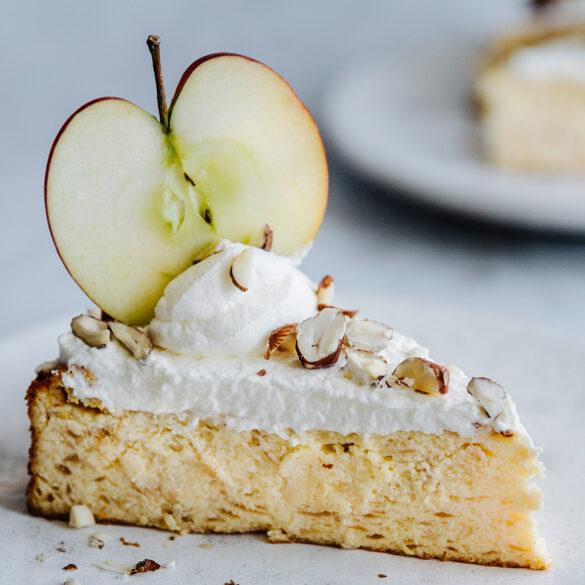 FINESSE, Gourmet, Food, Magazin, Rezepte, Fisch, Apfelglück, Apfel-Quark-Torte