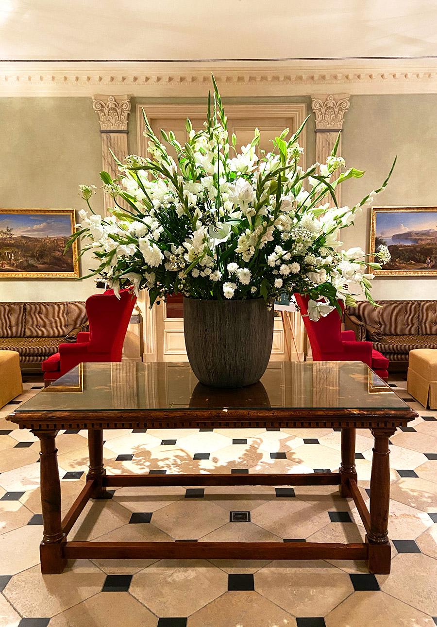 FINESSE, Magazin, Brenners Park Hotel, Travel, Gourmet, Reise, Selektion Deutscher Luxushotels, Lobby, Lilien