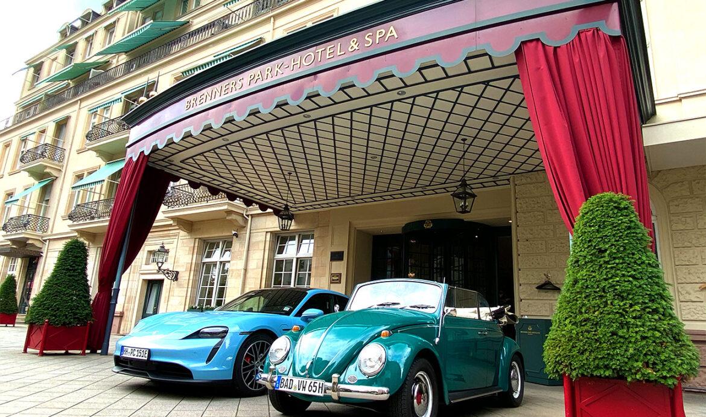 FINESSE, Magazin, Brenners Park Hotel, Travel, Gourmet, Reise, Selektion Deutscher Luxushotels, Porsche Taycan, Käfer Cabrio 1965